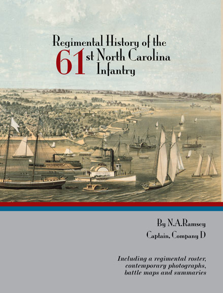 Regimental History of the 61st NC Infantry